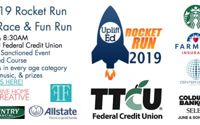 9-7-19 Rocket Run 5K Race & Fun Run